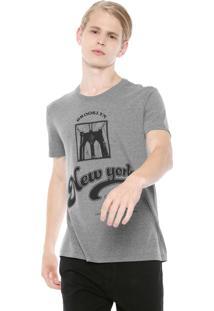Camiseta Calvin Klein Jeans Estrelas Cinza