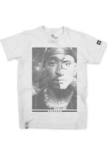 Camiseta Stoned 2Pac X Eminem Branco