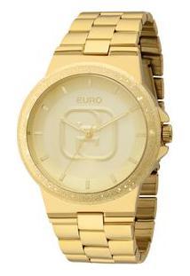 Relógio Euro Feminino Glitz Eu2036Lzx/4D