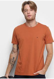 Camiseta Ellus Cotton Fine E Asa Classic Masculina - Masculino-Amadeirado