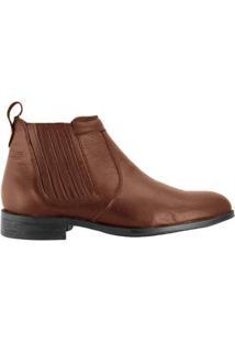 Bota Hb Agabe Boots Conforto Elástico Masculino - Masculino-Café