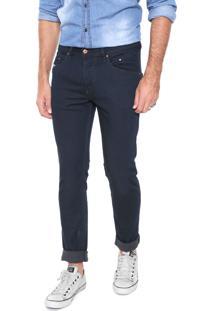 Calça Jeans Diesel Skinny Belther Azul-Marinho
