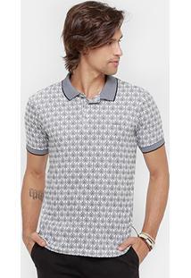 Camisa Polo Colcci Malha Coqueiros Masculina - Masculino