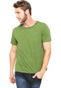 Camiseta Cavalera Básica Verde