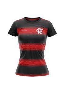 Camiseta Braziline Flamengo Change Feminina