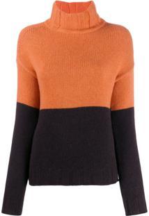 Aragona Knitted Cashmere Jumper - Laranja