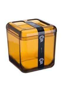 Porta Escova Cube Mel 20876/0456 - Coza - Coza
