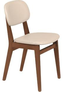 Cadeira London Estofado Bege (Amêndoa) Piazza - Tramontina
