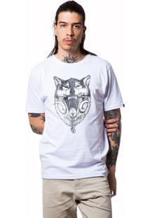 Camiseta Basica Wolf 321 Branco
