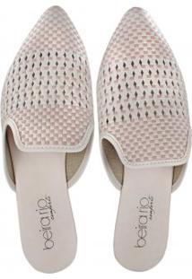 Sapato Mule Beira Rio Feminino