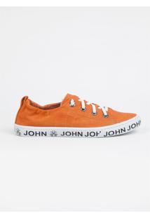 Tênis John John Heaven Orange Strech Laranja Feminino (Laranja Medio, 38)