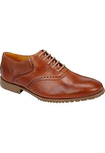 Sapato Social Masculino Oxford Sandro Moscoloni Milazzo Marrom Claro