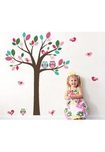 Adesivo De Parede Balihai Stickers 160X123 Belle Pink