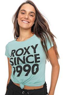 Camiseta Roxy Since Verde