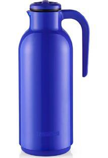 Garrafa Térmica Plástica Reunir 1Lt Sanremo Azul Cód. 8417