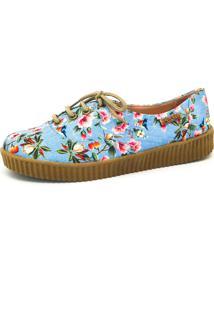 Kanui. Tênis Creeper Quality Shoes Floral ... 7fed4f57bf6b6