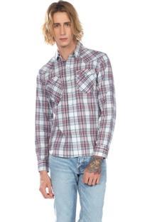 Camisa Levis Mascuino Classic Western Xadrez - Masculino