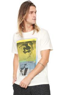 Camiseta Redley Skateshadow Off-White