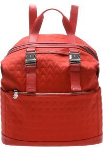 Mochila Nylon Triangle Red | Schutz