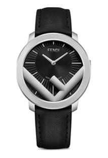 Fendi Relógio Run Away 41Mm - Preto