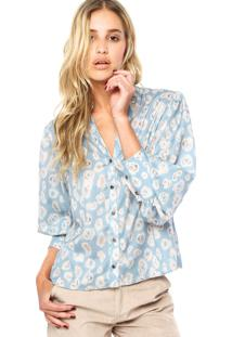 Camisa Lança Perfume Small Azul