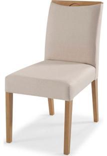 Cadeira Malau Sem Braco Encosto Estofado Branco 90Cm - 59722 - Sun House