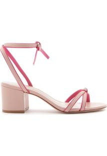 Sandália Block Heel Strings Duo Pink | Schutz