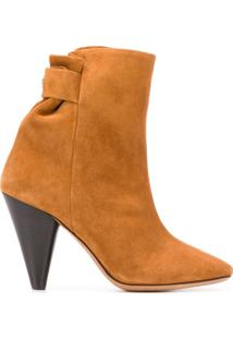 Isabel Marant Ankle Boot Lystal - Marrom