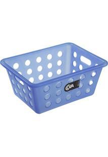 Cesta Organizadora One Pequena 18,6X14,2Cm Azul