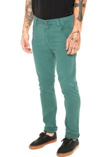 Calça Mcd Cotton New Slim Originality Verde