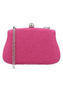 Bauarte – Bolsa Clutch Com Fecho Cromado Bauarte – Bolsa Clutch Com Fecho Cromado Pink