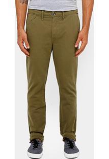 Calça Triton Sarja Color Tinturada Masculina - Masculino