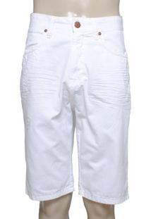 Bermuda Masc Dopping 013158516 Jeans Branco