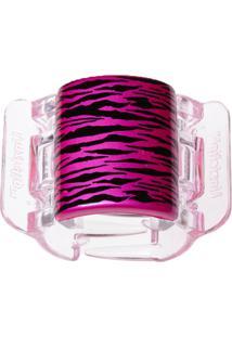 Prendedor De Cabelo Linziclip Tiger Pearlised Hot Pink