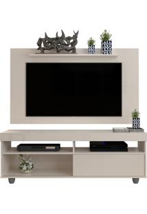 Rack Com Painel Texas 1.36 - Off White - Rpm Mã³Veis - Incolor - Dafiti