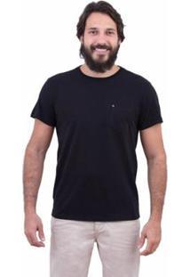 Camiseta Limits Touch Peace And Love Masculina - Masculino-Preto