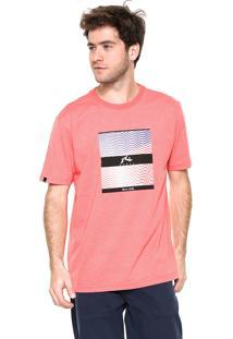 Camiseta Rusty Unwave Coral