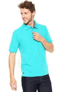 Camisa Polo Mr Kitsch Manga Curta Basic Verde