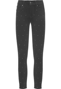 Calça Feminina Jeans 711 Skinny Ankle - Preto
