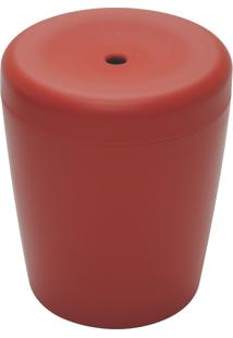 Puff Multiuso Vermelho - Basic - Cor Vermelho - Tramontina