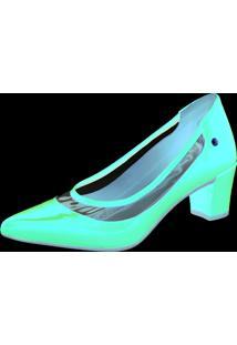 Sapato Scarpin Domidona Cristal Transparente Vermelho - Vermelho - Feminino - Dafiti