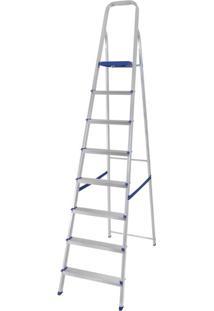 Escada De Alumínio 8 Degraus Mor
