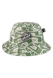 Chapéu Bucket Mxc Brasil Dollar Cash Money Preto