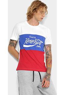 Camiseta Manga Curta Coca-Cola Masculina - Masculino