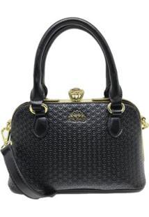Bolsa Casual Sys Fashion 8534 Feminina - Feminino-Preto