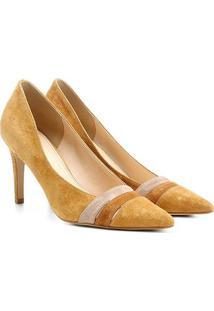 Scarpin Couro Shoestock Salto Alto Mix Colors