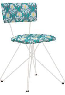 Cadeira Butterfly 1 Peça Cinza/Verde - Urbe Móveis