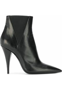 Saint Laurent Ankle Boot 'Kiki' - Preto