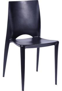 Cadeira Zoe- Preta- 84X44,5X42Cm- Or Designor Design