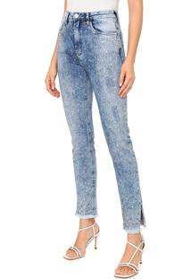 Calça Jeans Carmim Skinny Paula Azul